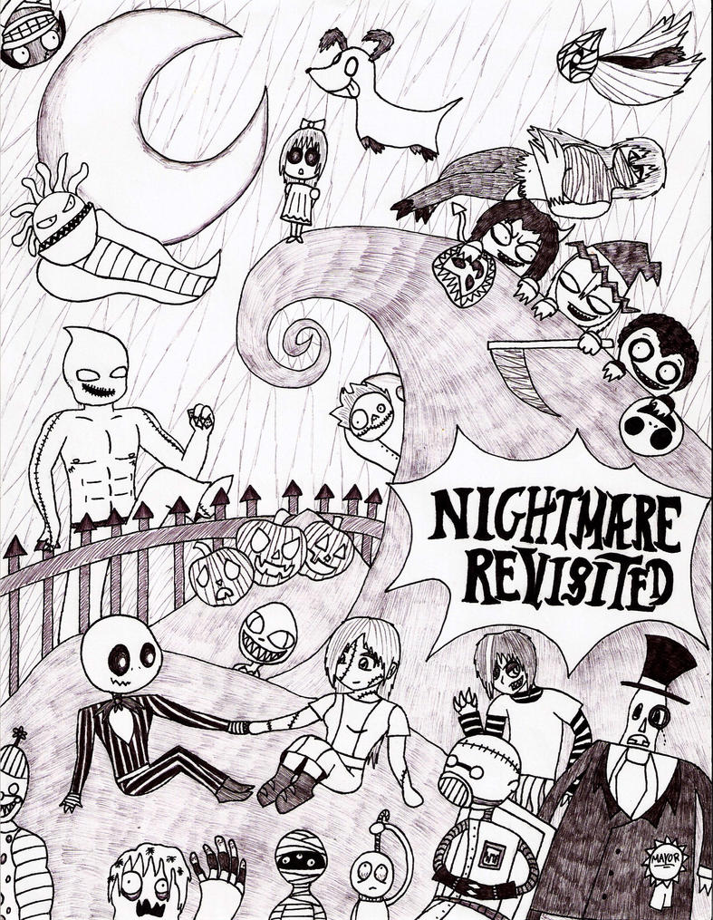 Nightmare Revisited by Dethkira on DeviantArt