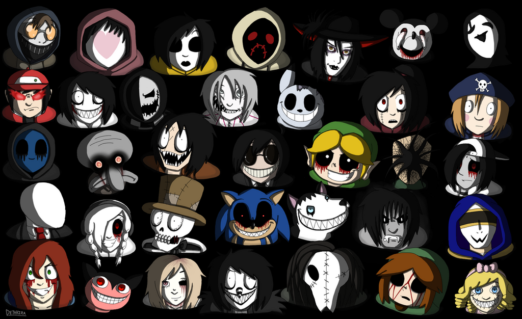 Creepypasta Invasion by Dethkira