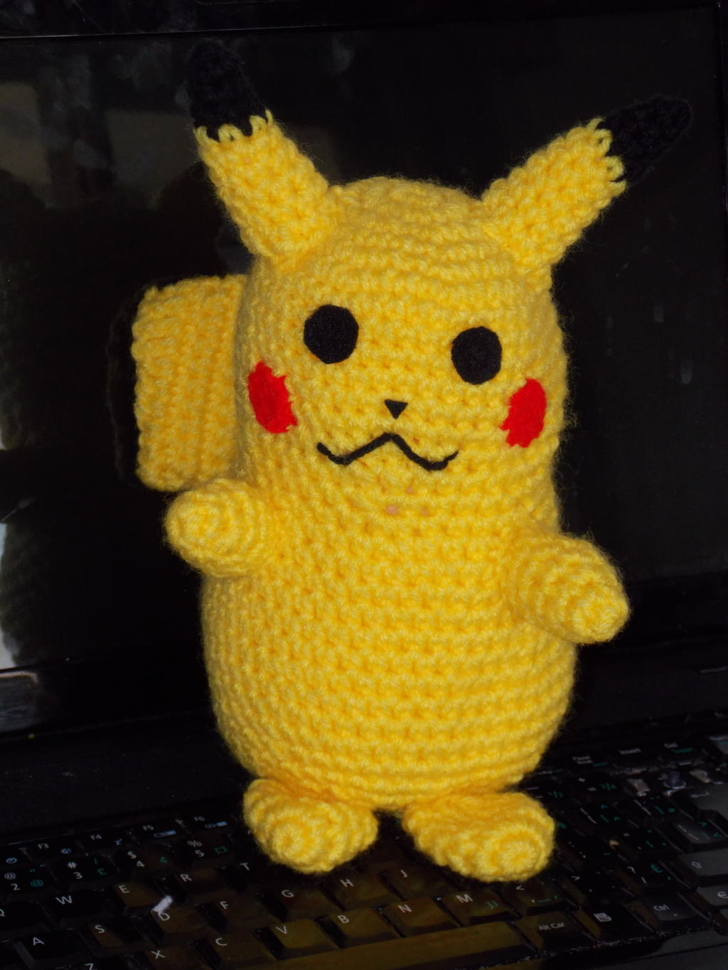 Schema Pikachu Amigurumi : Pikachu amigurumi from pokemon by GGFboutique on DeviantArt