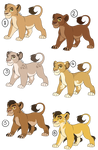 SOLD - Paypal Adoptables - Batch 1