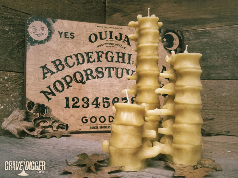 Spine Candles by mentalshed