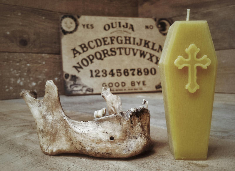 Coffin Candle by mentalshed