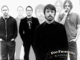 Foo Fighters by linkinDarkShadow