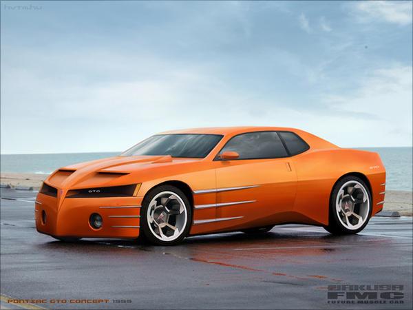 Pontiac Gto Concept By Futuremusclecars On Deviantart