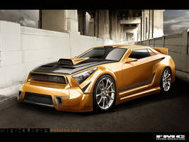 Jakusa Mesteno GTR by FutureMuscleCars