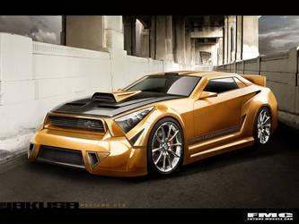 Jakusa Mesteno GTR by FutureMuscleCars