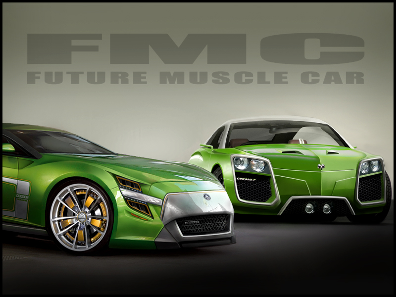 Images Of Muscle Cars Concept Design Sc