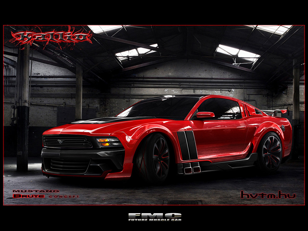 Ford Mustang Brute By Kallio By Futuremusclecars On Deviantart