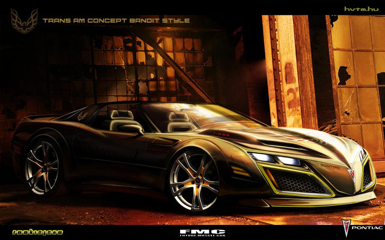 Pontiac Trans Am Bandit style by FutureMuscleCars