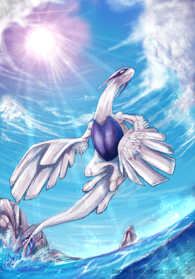 Lugia by ItsOver900O