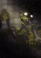 Five Nights at Freddy's: Springtrap [RE-UPLOAD] by Ink-Leviathan