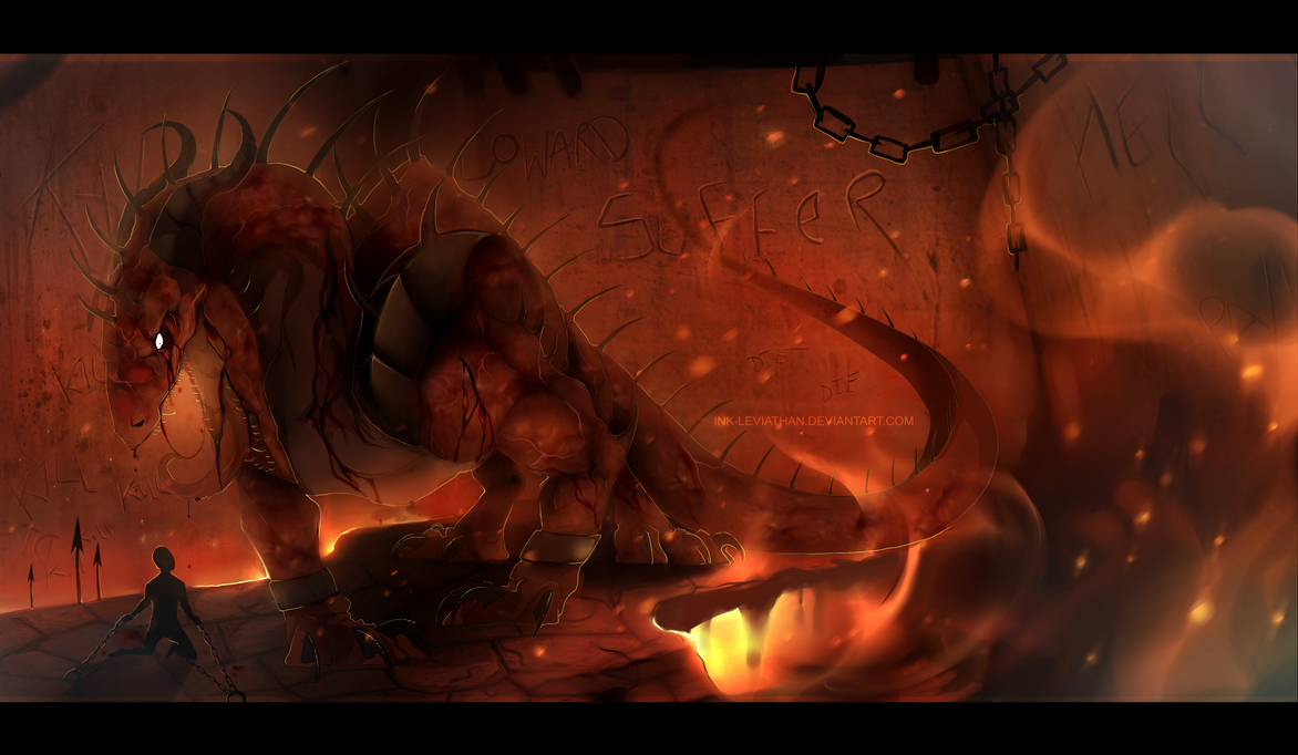 Your special place in Hell by Ink-Leviathan