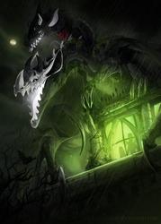 [Happy Halloween] Theiashu Gargoyle by Ink-Leviathan
