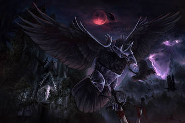 Corviknight by Ink-Leviathan