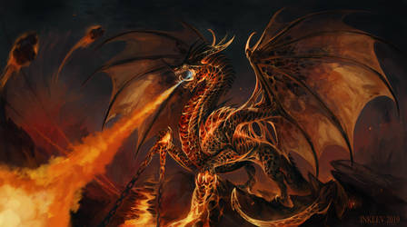 The Smoldering Dragon's Lair