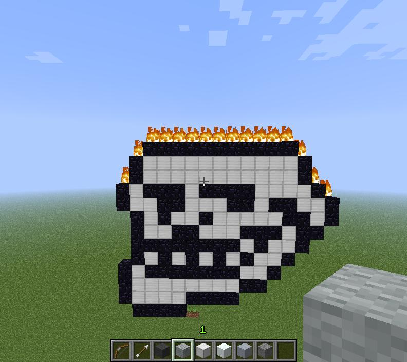 Minecraft Pixel Art Grid Troll Face my minecraft pixel art...
