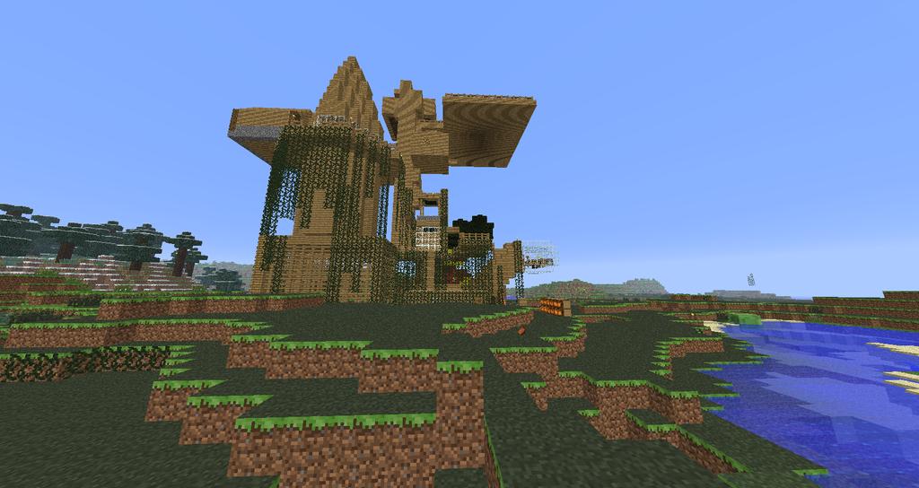 My Minecraft House By Wadef4 On Deviantart
