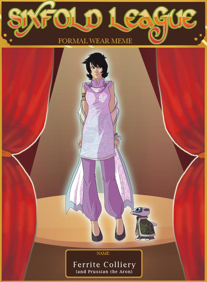 6XL: Ferrite's Formal Wear by biscuitcrumbs