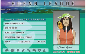 Konani Trainer License