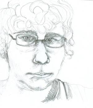 Self-Portrait 4-12-10