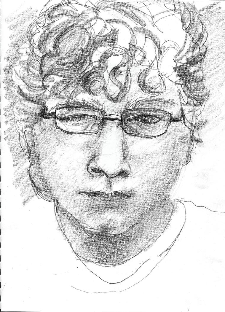 Self Portrait January 12 2011 by partymetroid