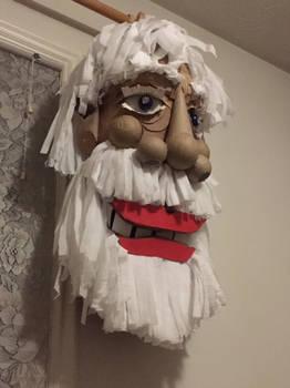 Santa Hatless