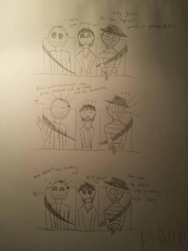Jason, Freddy and Michael XD by TailsTrovato