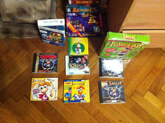 Rayman Collection #1 by OldClassicGamer