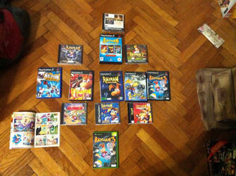 Rayman Collection #4 by OldClassicGamer