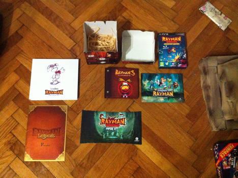 Rayman Press Kits And History Book