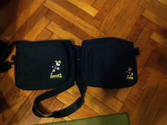 Rayman Shoulder Bags by OldClassicGamer