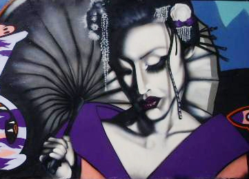 geisha by rarebitone