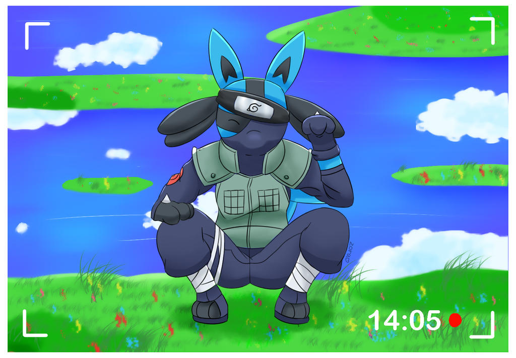 Pokemon Lucario Kakashi S Cosplay By Zorudawn On