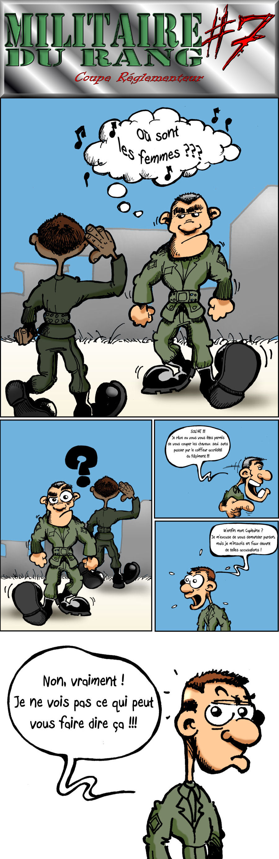 Militaire du Rang 7 by Toun57