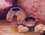 Still Life with Iron Age Pottery