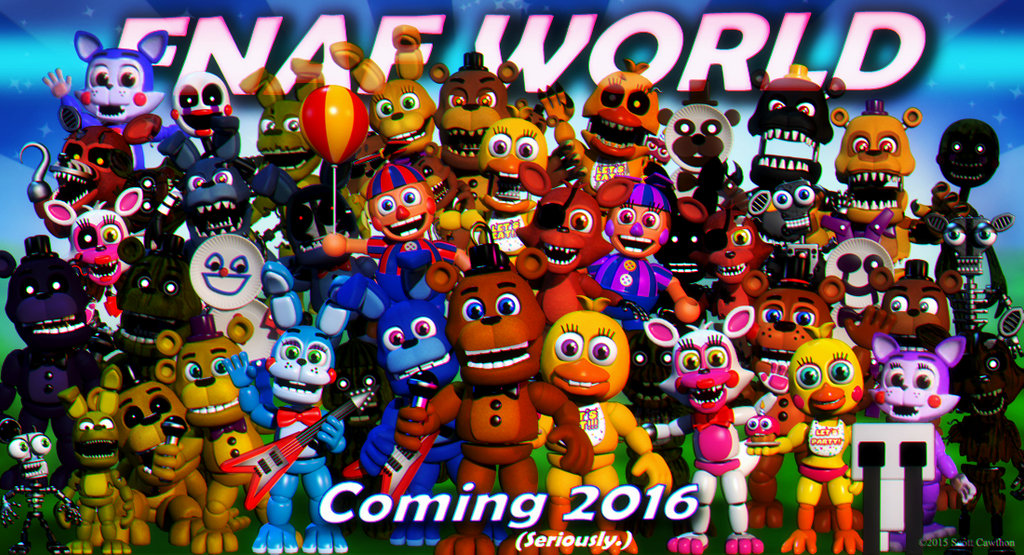 Candy and cindy in Fnaf world teaser by Carlosparty19 on ...
