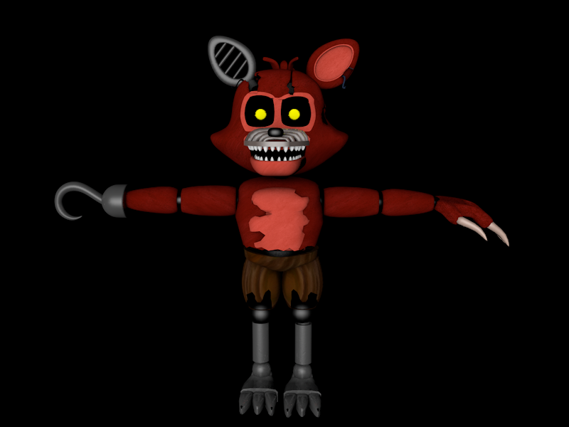 adventure nightmare foxy v 2 finished by carlosparty19 on
