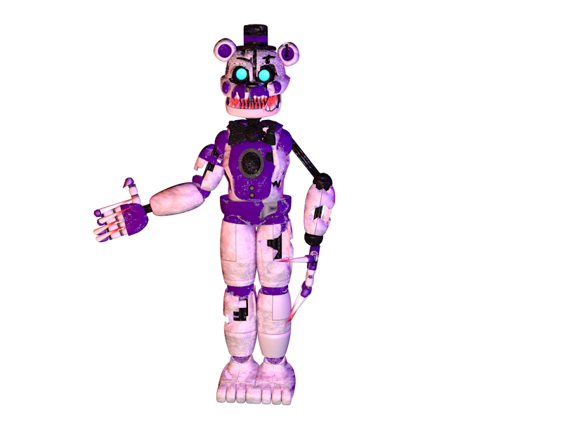 Mmd Funtime Freddy: Evil Funtime Freddy (no Bonnie Marionette) By
