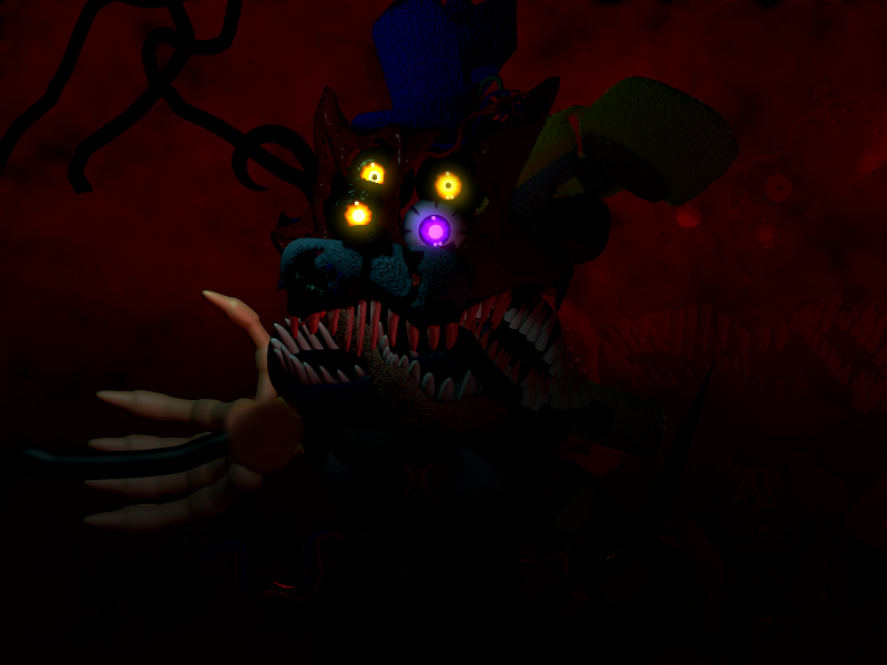 Nightmare Animatronics Fusion By Carlosparty19 On Deviantart