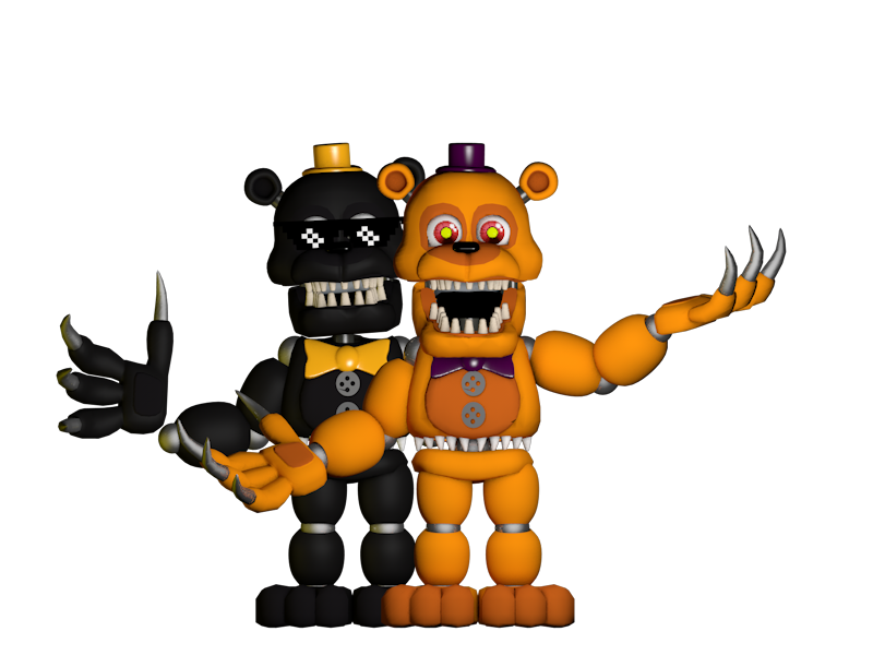 adventure nightmare fredbear and nightmare by. Black Bedroom Furniture Sets. Home Design Ideas