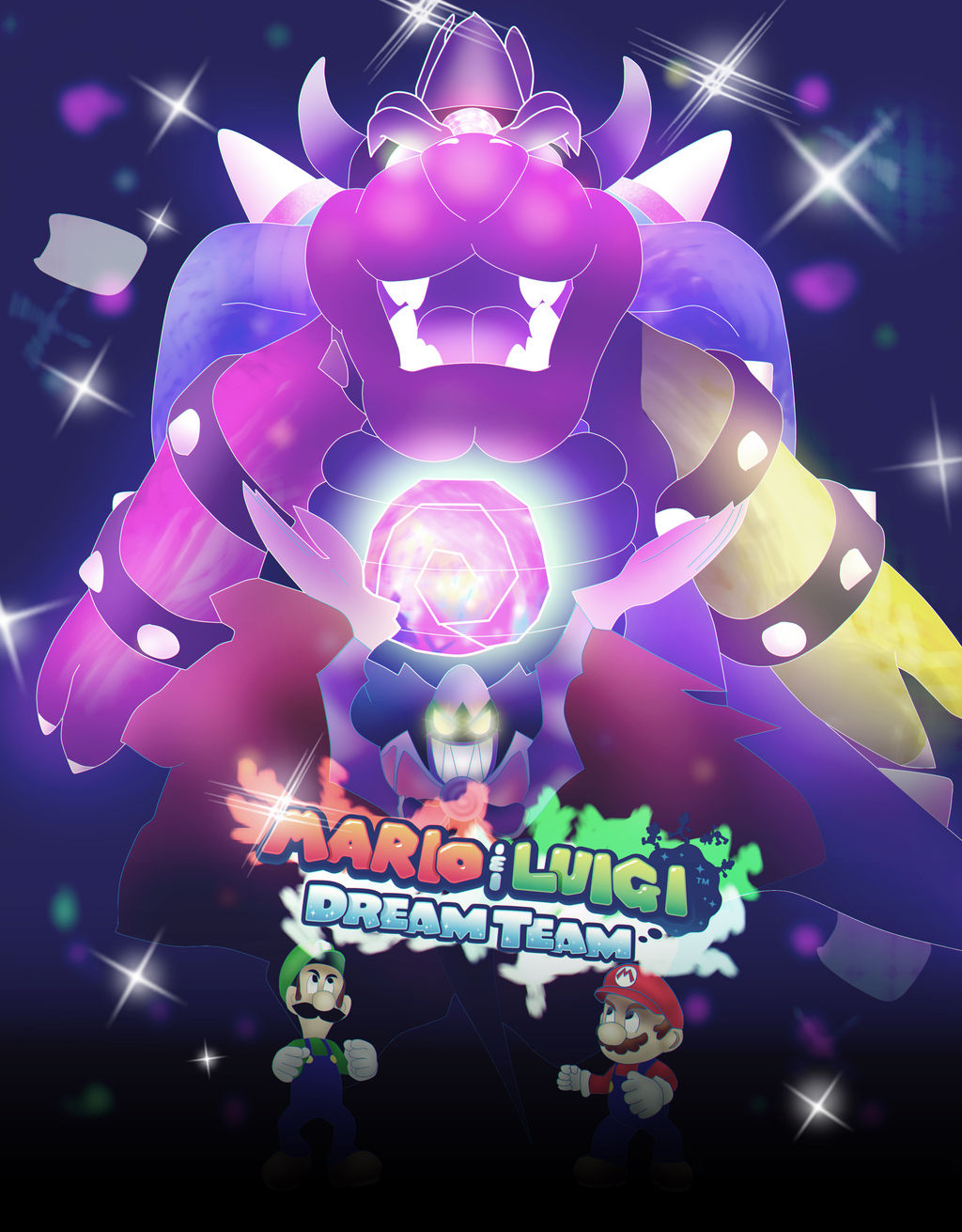 Mario And Luigi Dream Team Wallpaper By Carlosparty19 On Deviantart