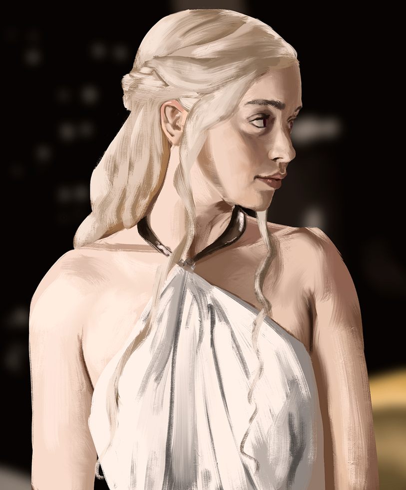 Daenerys Targaryen by Robertthem