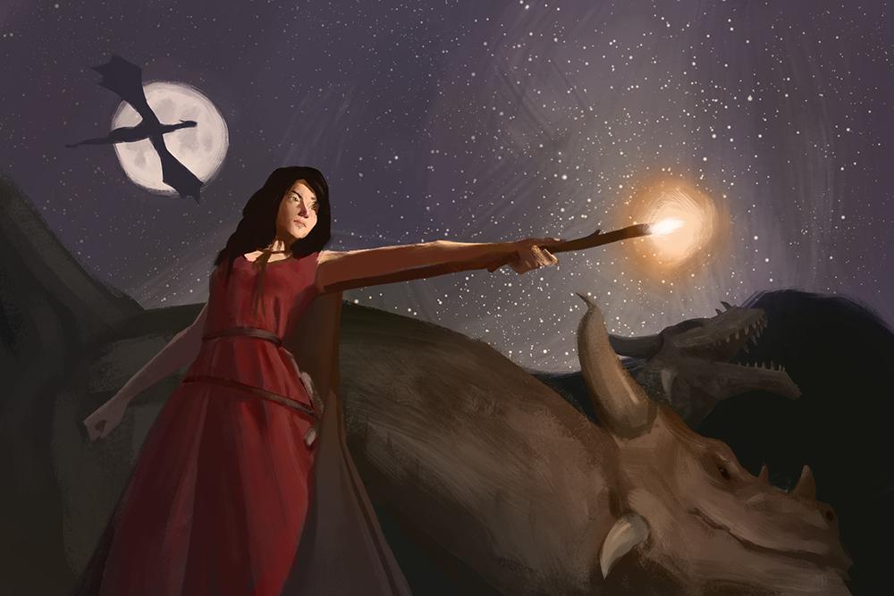 Dragon Tamer by Robertthem