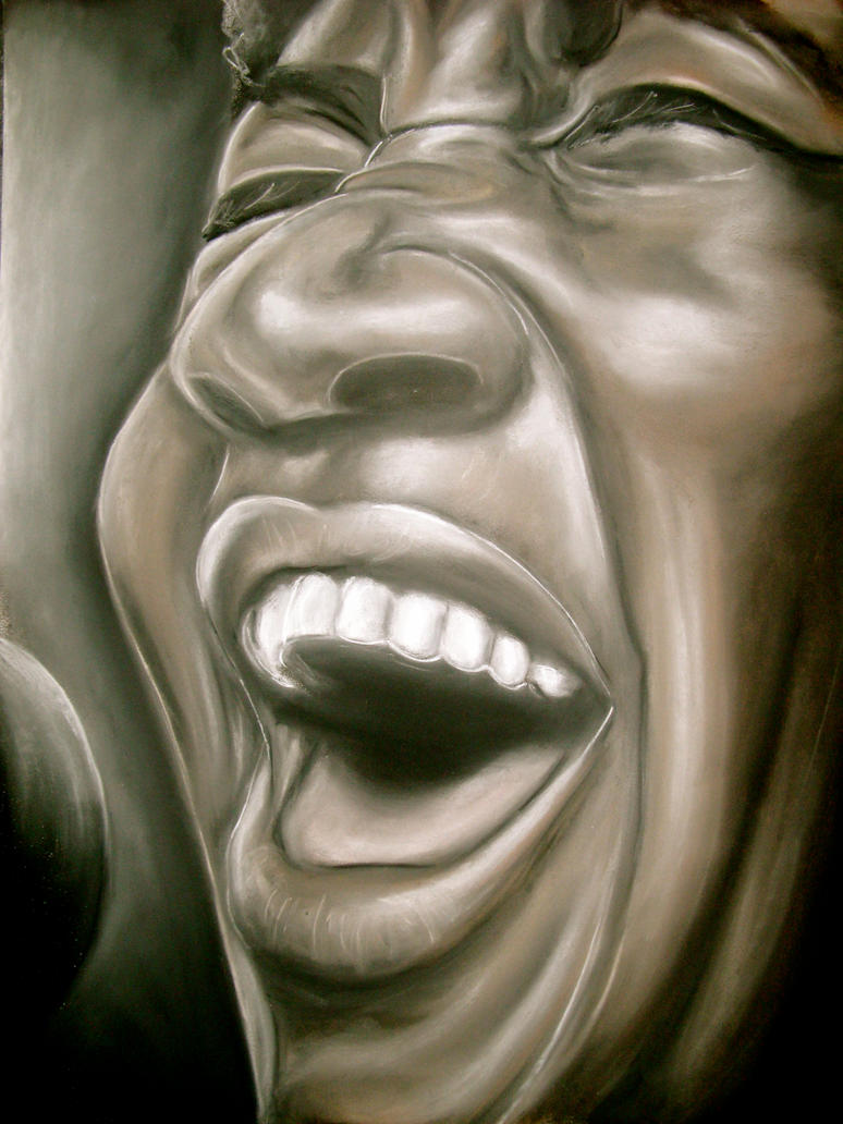 Aretha Franklin by zachzwagil