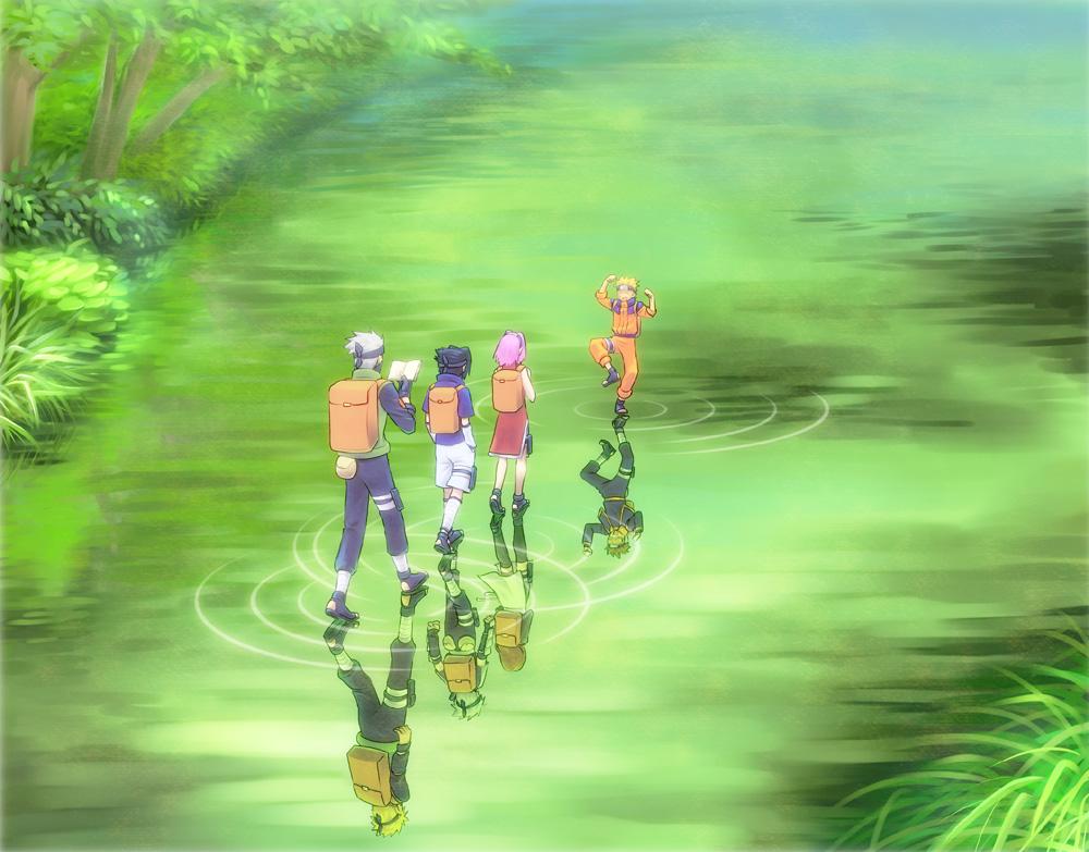 Team Kakashi and team ...
