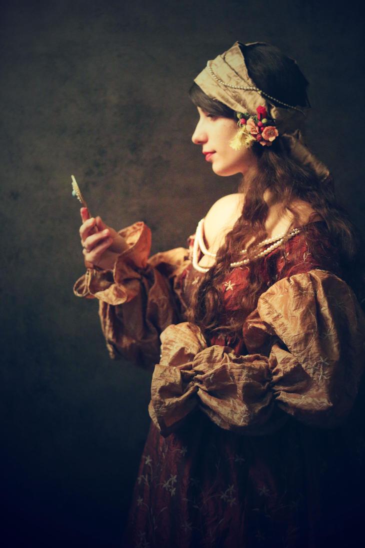 Neelane delphine marcusse deviantart for Fille au miroir
