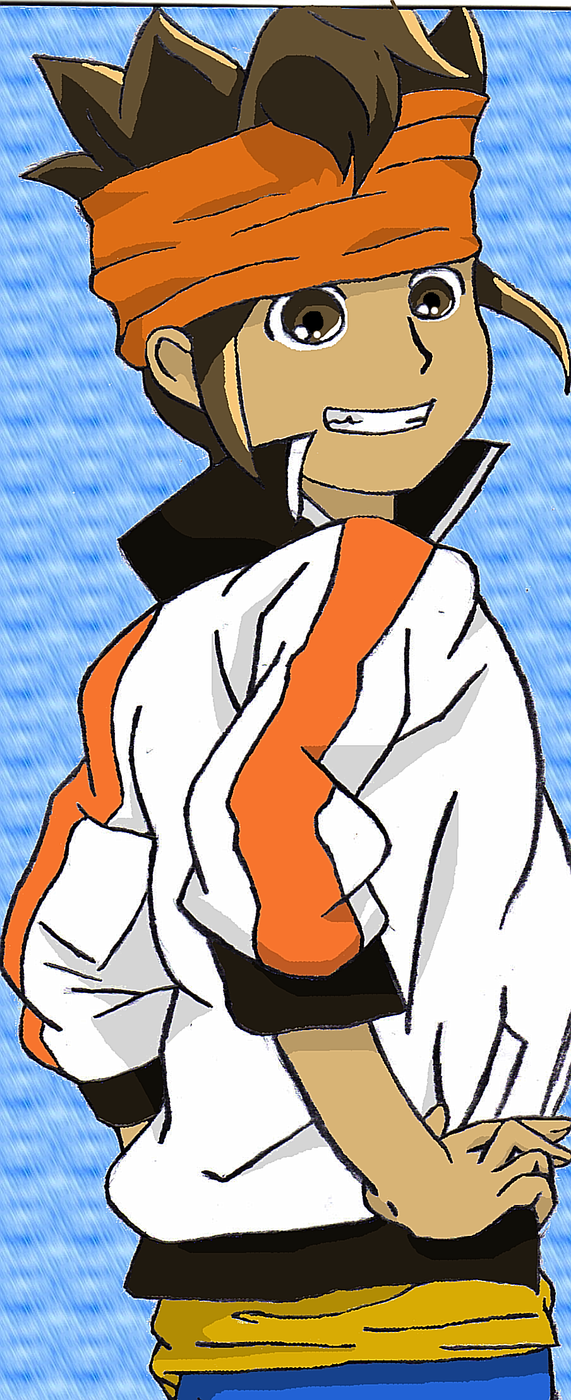 Endou in Go by BlueTiger8D