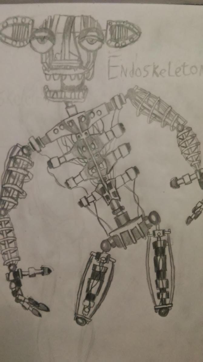 Endoskeleton by SilentVenomari