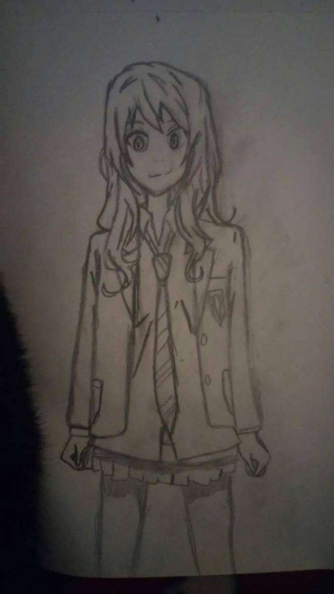 Kaori Miyazono by SilentVenomari