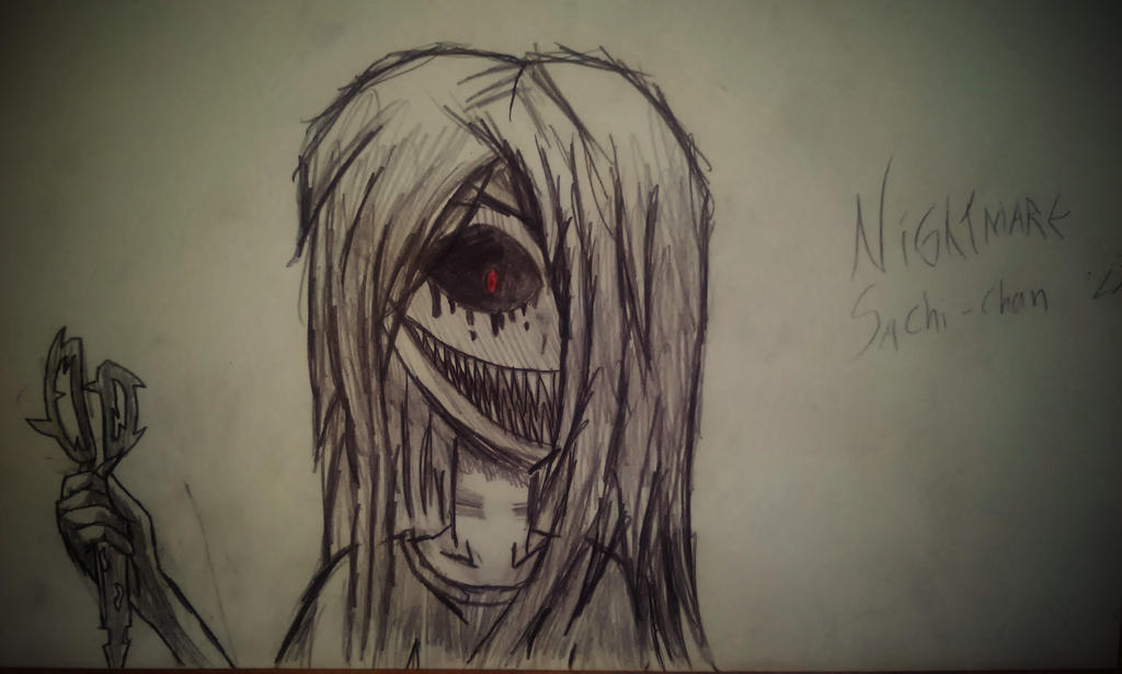 Nightmare Sachiko by SilentVenomari